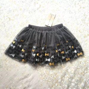 NWT First Impressions Tutu Skirt Bowtie Sz 24 Mos